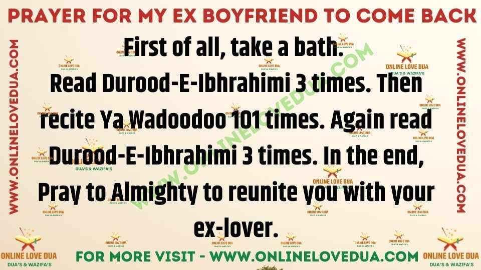Prayers To Get Your Ex Back, Prayer To Get Your Ex Boyfriend Back,